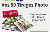 50 tirages photo 10 x 15 cm gratuits !