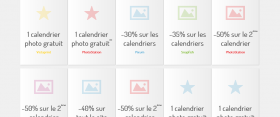 Bons plans calendriers photo !