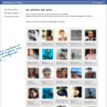 Développer vos photos facebook dans un album photo ?