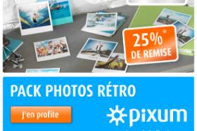25% de remise sur vos photos polaroid !